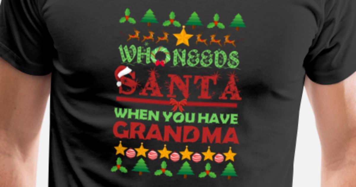 Grandma Großmutter Oma Omi Geschenk Weihnachten von TeeBizz ...