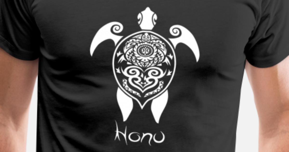 Idee De Cadeau De Tatouage Groupe De Tortues Maoris T Shirt Premium
