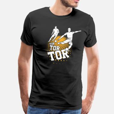 Buteur But de football - T-shirt Premium Homme