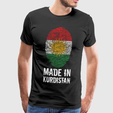 Made in Kurdistan Flag Her biji gift - Men's Premium T-Shirt