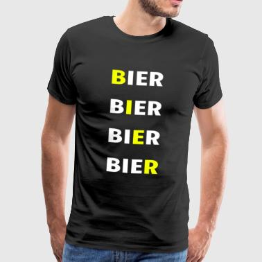 BIÈRE DE BIÈRE BIÈRE DE BIÈRE - T-shirt Premium Homme