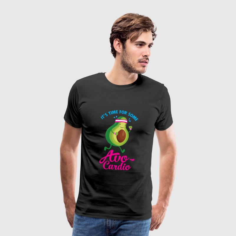 It\'s Time For Some Avo Cardio - Men's Premium T-Shirt