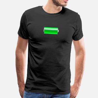 Battery Battery battery charging bar - Men's Premium T-Shirt