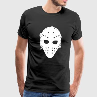 Vintage Goalie Mask - Men's Premium T-Shirt