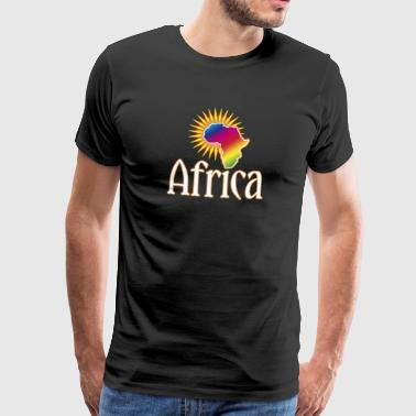 continent Afrique Wilderness Roots Safari Reggae - T-shirt Premium Homme