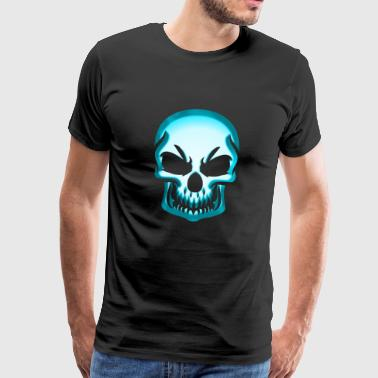 Skull skull and bones Jolly Roger - Men's Premium T-Shirt
