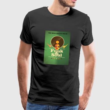 FUNK SOUL Afro Chic Vintage style club wear urban - Men's Premium T-Shirt