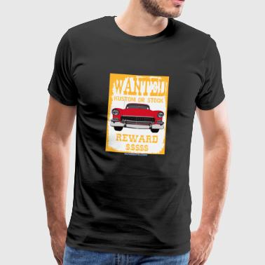 WANTED OR STOCK KUSTOM - cod: 1955ChevyBelAir - Men's Premium T-Shirt