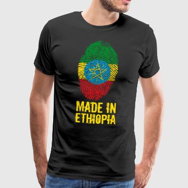 Made In Ethiopia / Äthiopien / ኢትዮጵያ - Männer Premium T-Shirt