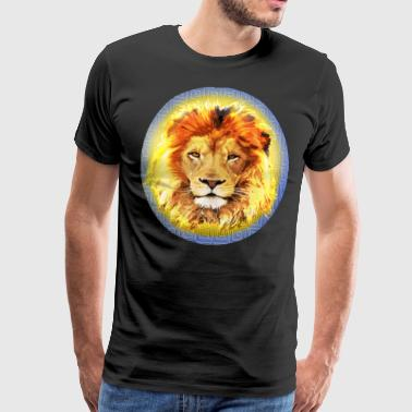 Lion Insignia - Men's Premium T-Shirt