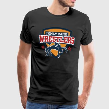 My kids love wrestling and wrestling - Men's Premium T-Shirt