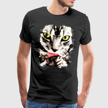 GXP Cat likt en perfect likt - Mannen Premium T-shirt