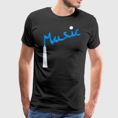 Dentimusic - Mannen Premium T-shirt