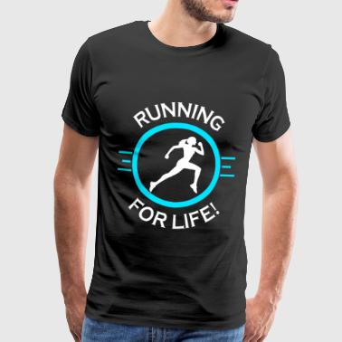 Running Life - Men's Premium T-Shirt