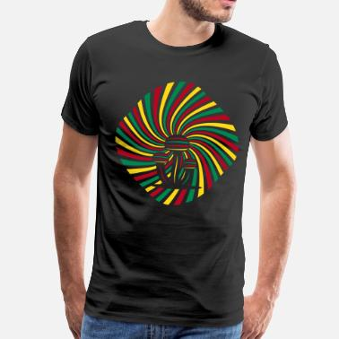 Magic Mushroom Psychedelic Magic Mushrooms - Men's Premium T-Shirt