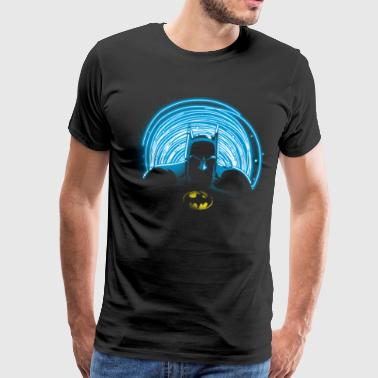 DC Comics Originals Batman Contour Neon - T-shirt Premium Homme