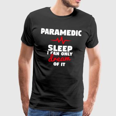 Paramedico - Night Shift divertente T-shirt - Maglietta Premium da uomo
