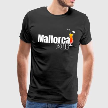 Mallorca TShirt 2018 - The Cocktail Shirt! - Men's Premium T-Shirt