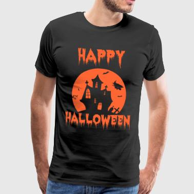 Pumpkin Happy Halloween Shirt - Men's Premium T-Shirt