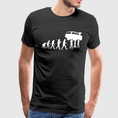 KFZ Mechaniker Evolution - Auto Mechatroniker - Männer Premium T-Shirt