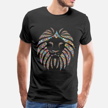 Colorful Colorful lion - Men's Premium T-Shirt