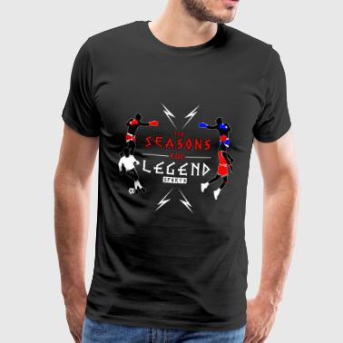Årstiderne for Legend sport! - Herre premium T-shirt