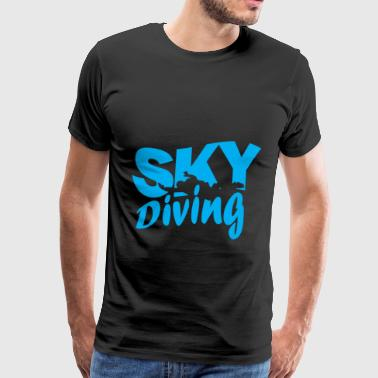 Skydiving skydiving - Men's Premium T-Shirt