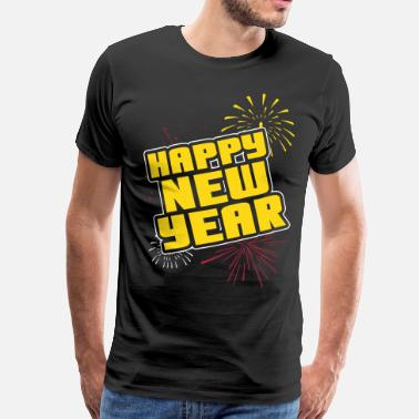 Happy Happy new year - Men's Premium T-Shirt