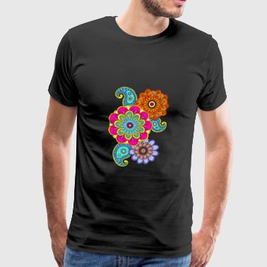 mandala composition - Men's Premium T-Shirt