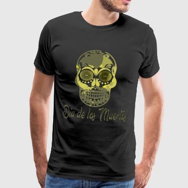 Day of the dead skull la Catrina gift shirt - Men's Premium T-Shirt