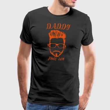 DADDY - since 2014 - Men's Premium T-Shirt