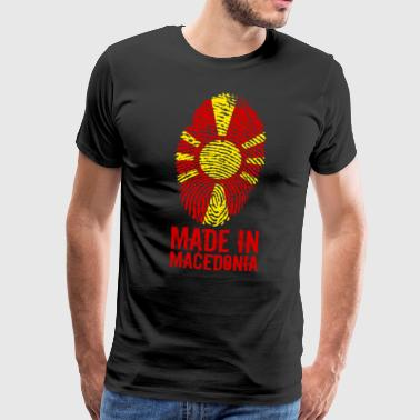 Made in Macedonia / Gemacht in Mazedonien - Männer Premium T-Shirt