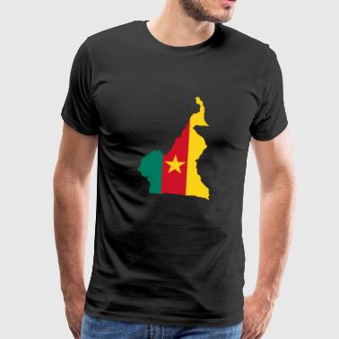 collection Cameroun - T-shirt Premium Homme