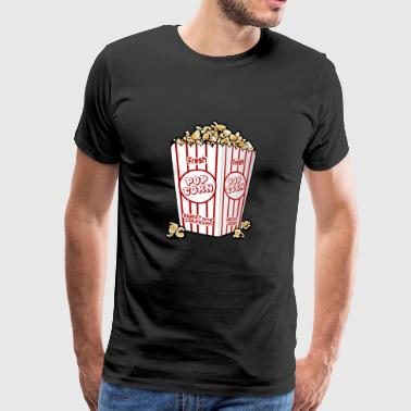 Popcorn cinema gift gift idea - Men's Premium T-Shirt