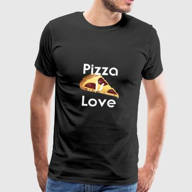 Pizza is liefde - Mannen Premium T-shirt