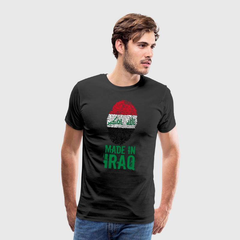 Made in Iraq / Gemacht in Irak العراق - Männer Premium T-Shirt