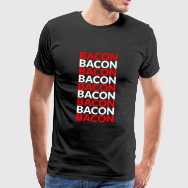 Eggs and bacon with bacon and meat - Men's Premium T-Shirt