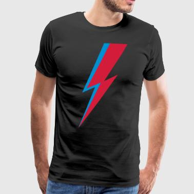 Flash, music, rebel, hero, comic, heroes, star - Men's Premium T-Shirt