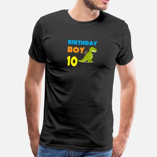 Birthday Boy 10 Years Old By