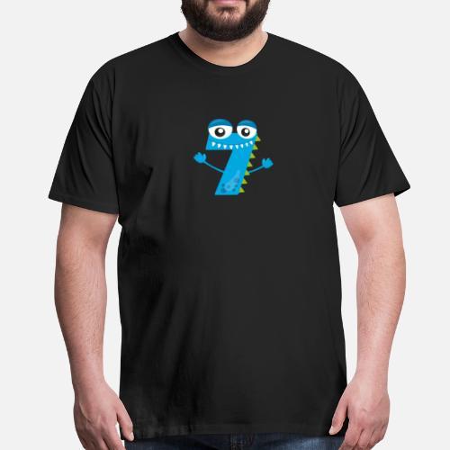 c4f8f90f47c2c Anniversaire garçon de 7 ans Cadeau T-shirt premium Homme   Spreadshirt