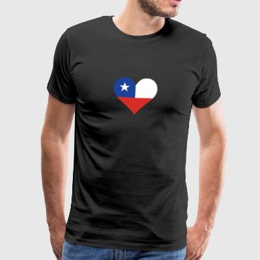 A Heart For Chile - Men's Premium T-Shirt