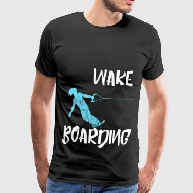 Wake Boarding Sports aquatiques Vintage Gift - T-shirt Premium Homme