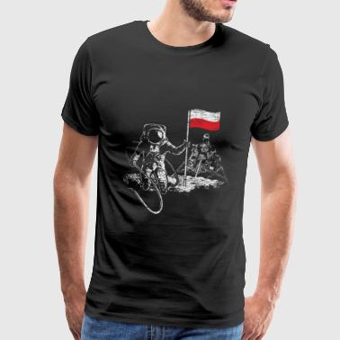 Polish space mission to foreign planets - Men's Premium T-Shirt