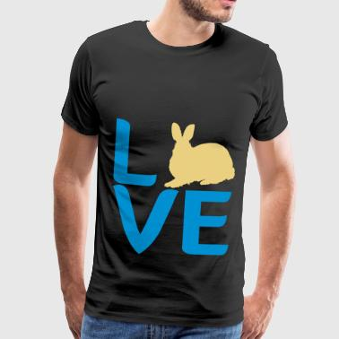 amour lapin lapin - T-shirt Premium Homme