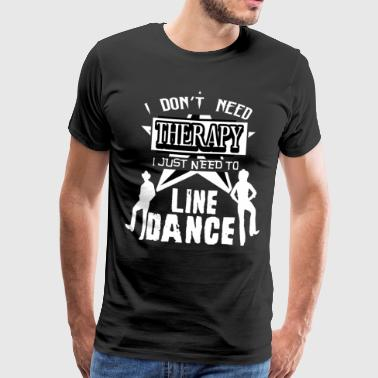 Linedance therapy - Men's Premium T-Shirt