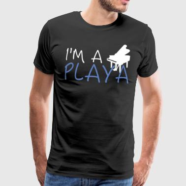 I'm A Piano Playa - Men's Premium T-Shirt