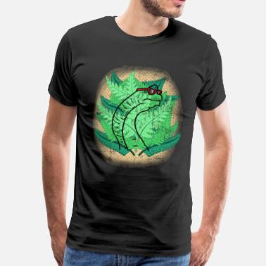 Nature Lover Hawaiian dinosaur - Men's Premium T-Shirt