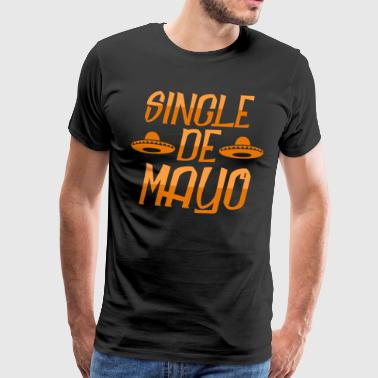 Single de mayo - Herre premium T-shirt