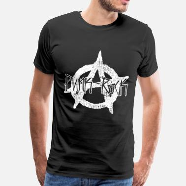 Punk Anarchia Punk Rebellion Oi idea regalo - Maglietta Premium da uomo