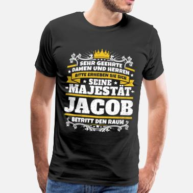 Jacob Seine Majestät Jacob - Männer Premium T-Shirt